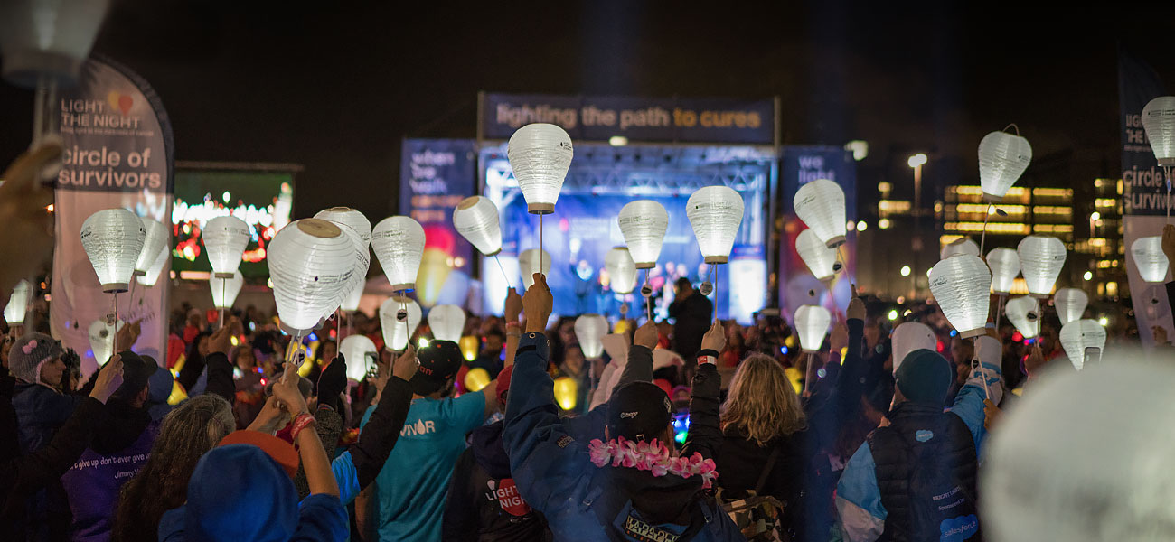 image of a Light The Night Event