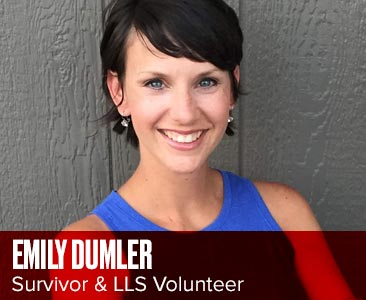image of Emily Dumler, Survivor & LLS Volunteer