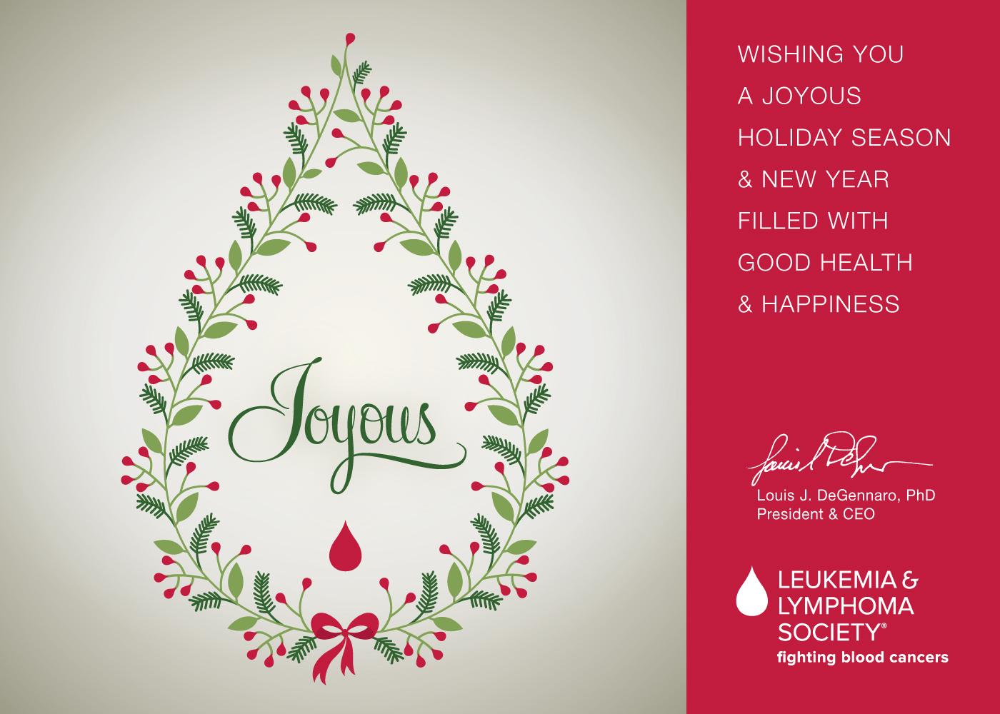 Holiday Concepts | Leukemia and Lymphoma Society