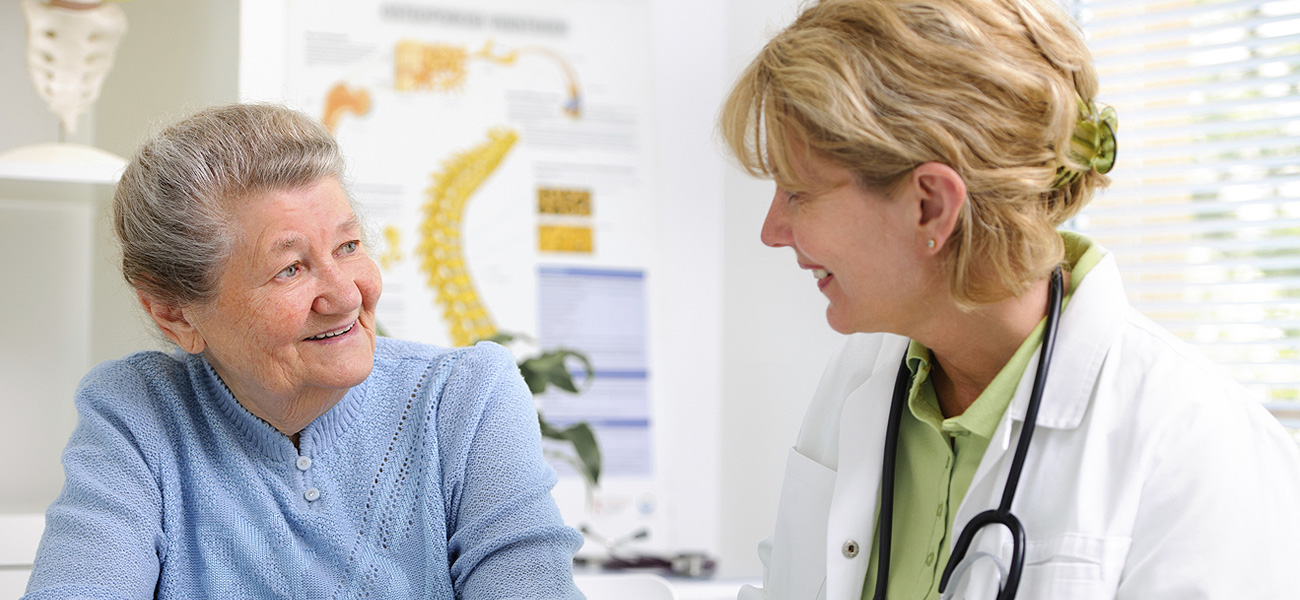 image of patient speaking with specialist