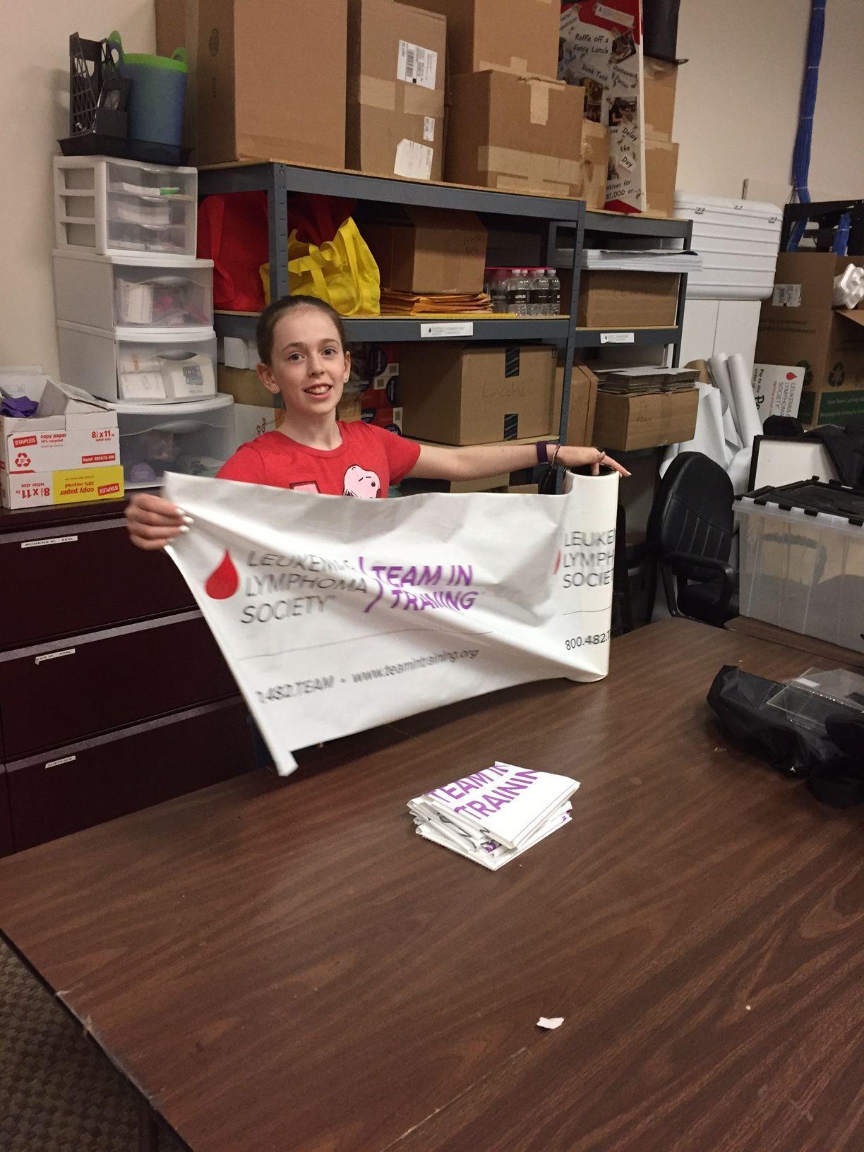 Cassie Fetsch, student volunteer for LLS's Minnesota chapter.