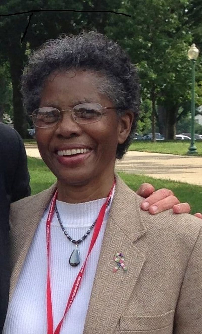 "Dorothy ""Dottie"" Spriggs of Baltimore, MD, advocated as part of a grassroots coalition that helped pass an oral parity bill in Maryland."