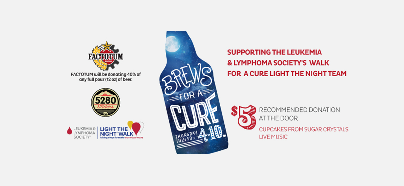 Brews for a Cure | Leukemia and Lymphoma Society