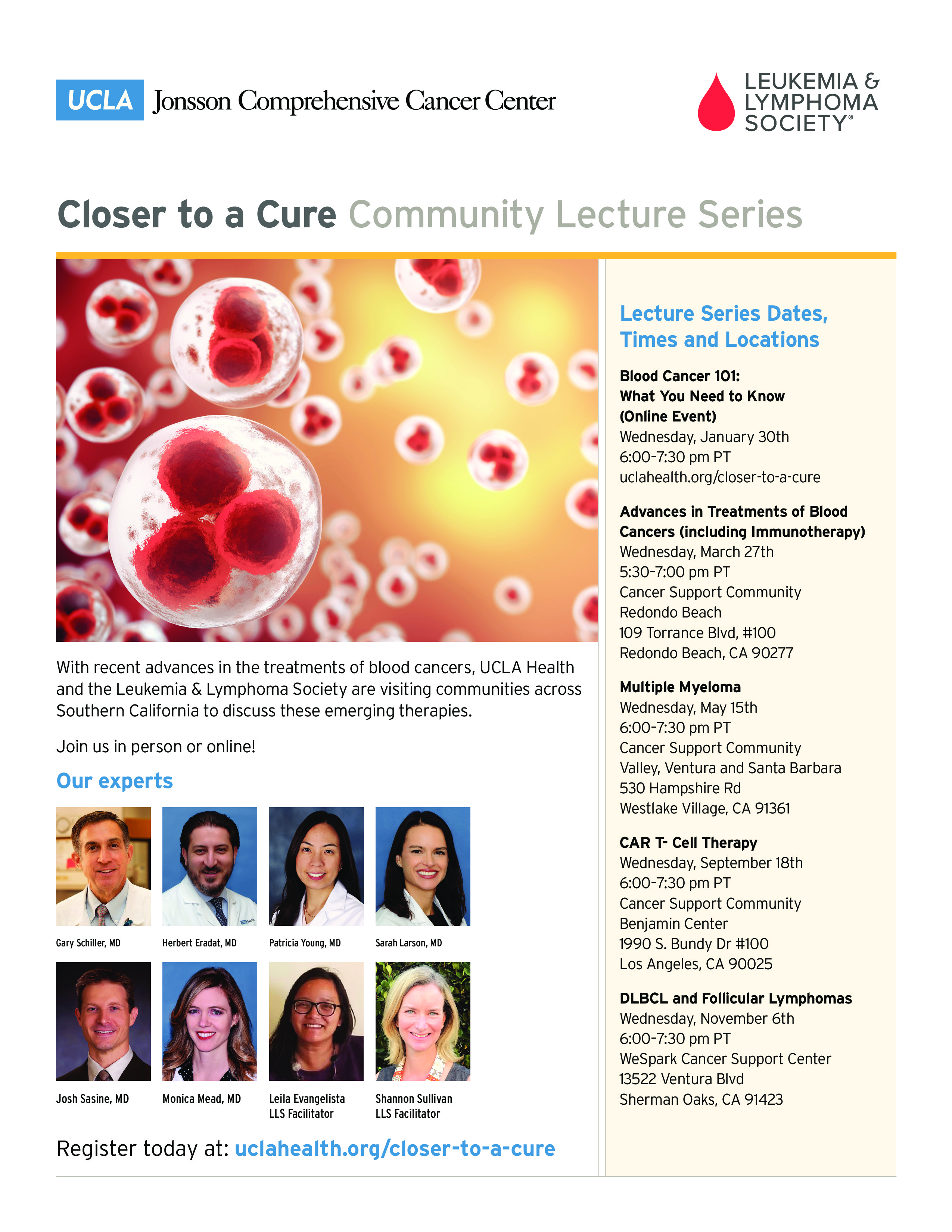 Closer to a Cure Lecture Series: Multiple Myeloma | Leukemia