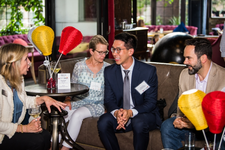 From left to right: Catherine Marcussen, Laurie Adami, Jordan Wong, and Will Troutman (Photo Credits: Jogularphotography)