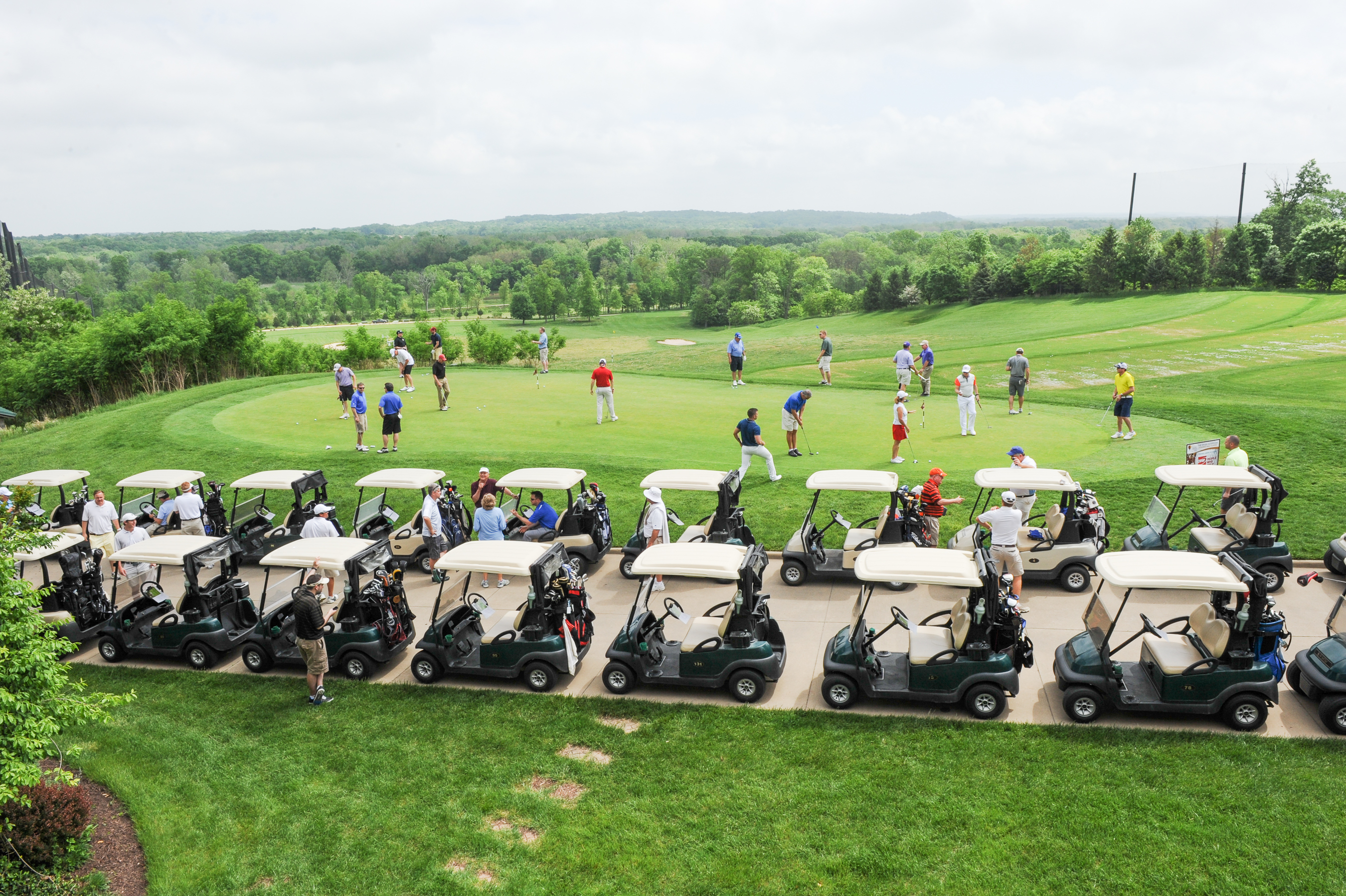 Leukemia Golf Classic View