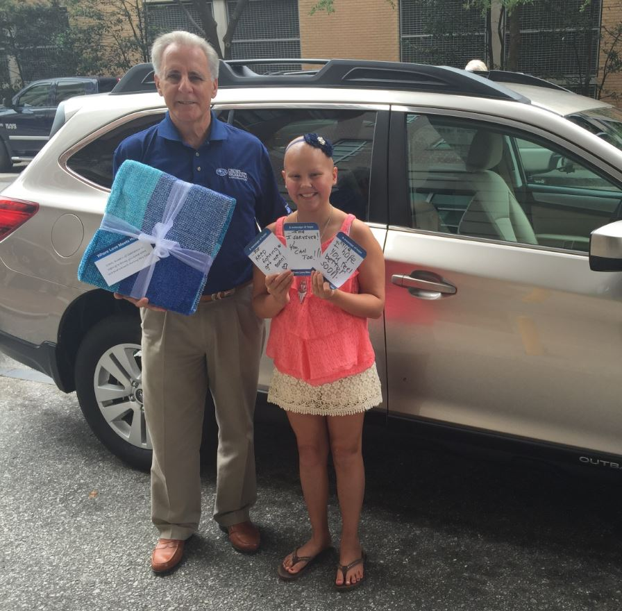 Subaru and LLS Deliver 30,000 Gifts of Comfort and Care to Cancer